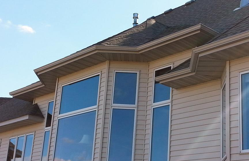multi-family dwelling gutters